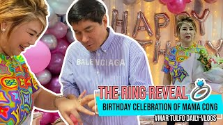 BIRTHDAY CELEBRATION OF MAMA CONG & VLOG TAKEOVER BY PAPA IDOL 🙃 | Maricel Tulfo-Tungol