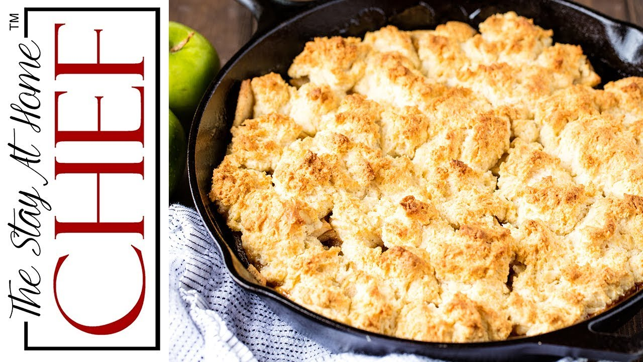 Download How to Make The Best Skillet Apple Cobbler  | The Stay At Home Chef