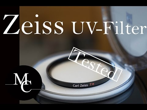 Best UV Filter - Zeiss Check - does it affect the image quality?