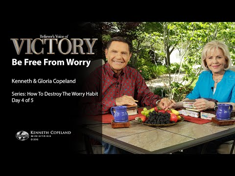 Be Free from Worry with Kenneth & Gloria Copeland (Air Date 7-14-16)