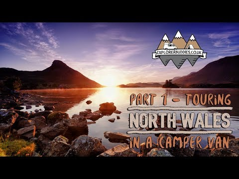 Touring NORTH WALES in a CAMPER VAN Part 1 with Florence and the Morgans #ad