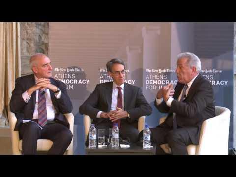 NYT Athens Democracy Forum 2016 - Global Conversation