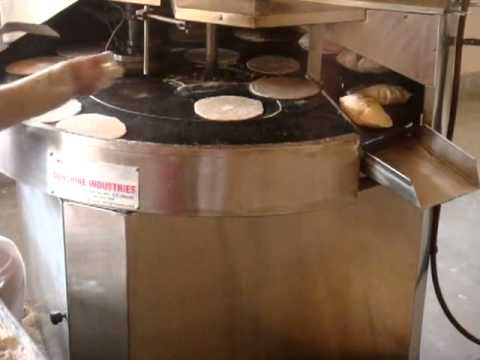 Automatic roti chapati maker youtube for Be a maker