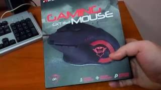 Trust GXT 162 OPTICAL GAMING MOUSE Распаковка