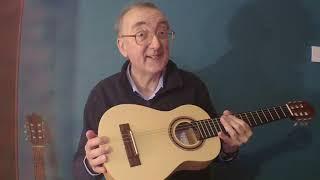 Thomann travel classical guitar review