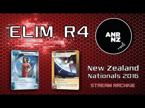 New Zealand Netrunner Nationals 2016 - ELIM R4