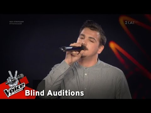 Chris Brian Karakasidis –  The Kill (Bury Me) | 7o Blind Audition | The Voice of Greece