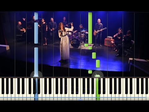 El Extraordinario - Sheila Romero - Jotta A - Tutorial Synthesia - Descargar Partitura Facil - Piano