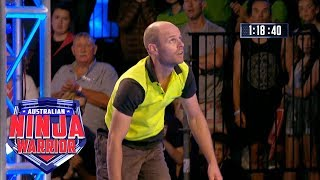 Ninja run: Sam Goodall (Grand Final - Stage 2) | Australian Ninja Warrior 2018