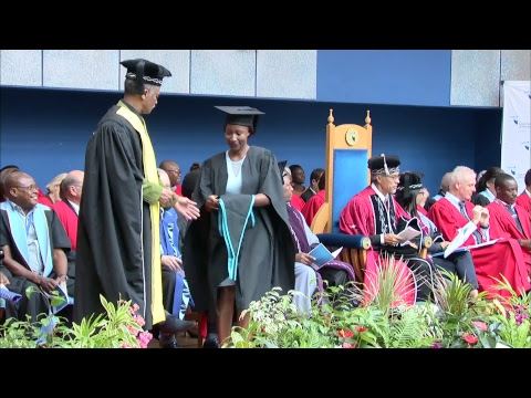 Graduation: Faculties of Applied Sciences and Business and Management Sciences Part 1