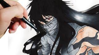 ✎ How to Draw Kurosaki Ichigo [Final Getsuga Tenshou]