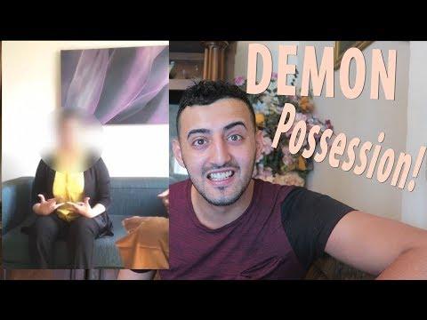 CREEPIEST JIN/DEMON VIDEO EVER!! (WOMEN POSSESSED!)