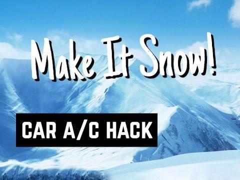 Car A/C Hack - How to Make your AC Cold Colder Coldest - Bundys Garage
