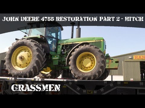 Project Tractor - John Deere 4755 Restoration | Part 2 - Hitch