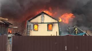 Братская 58 Тюмень пожар