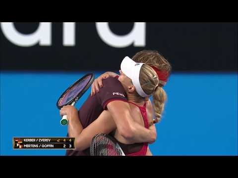 Germany v Belgium session highlights (RR) | Mastercard Hopman Cup 2018