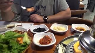 Китай и кухни мира #1: Корейский ресторан(Корейский ресторан в корейском районе города Гуанчжоу. Про Саню и Юлю https://www.youtube.com/watch?v=htjZg4_Ki5I., 2016-12-17T01:30:13.000Z)