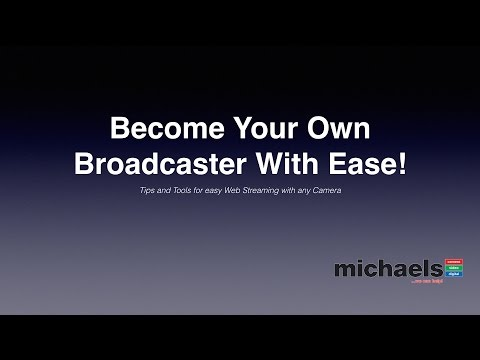 Become Your Own Broadcaster With Ease