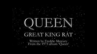 Watch music video: Queen - Great King Rat