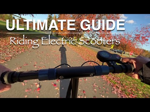 Ultimate Guide - Riding Electric Scooters