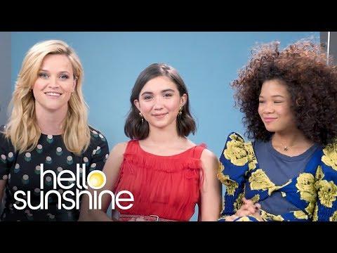 Reese Witherspoon & Storm Reid, Rowan Blanchard  Hello Sunshine Conversations Ep. 3