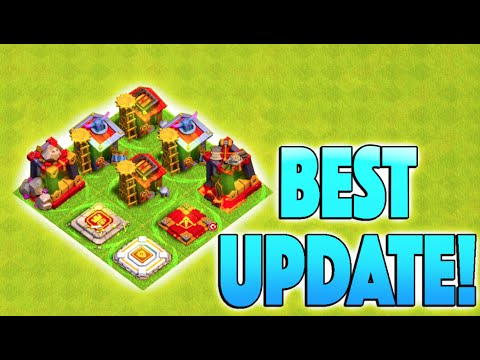 BEST UPDATE IN A LONG TIME! - Clash of Clans - New Faster Training Times Changing the Game!