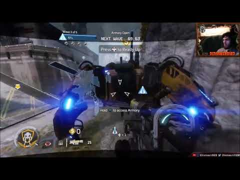 Titanfall 2 Insane Frontier Defense On Black Water Canal As Northstar