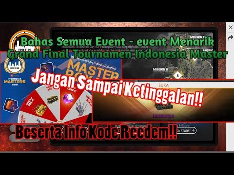 Bahas Tuntas Semua Event Menarik Grand Final Tournament Indonesia Master Ada Kode Reedem!! - 동영상