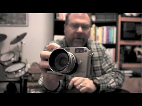 Contax G Shutter Sounds (and Focusing Hints)