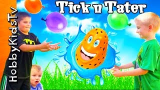 Water BALLOON Toss! TICK n