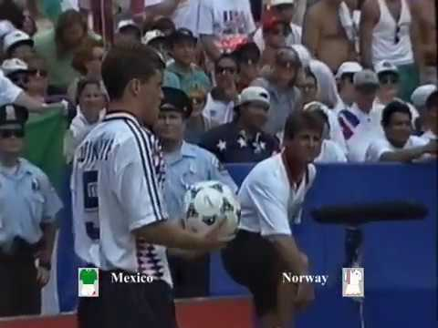 Mexico vs Norway Group E World cup 1994