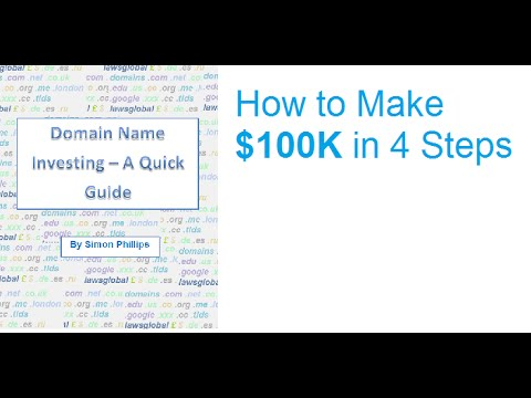 How to Make $100k in 4 Steps from Domain Name Investing