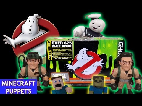 Ghostbusters Supply Tin (Walmart) Lunchbox/ Pencil Case Slimer Unboxing Back to School Movie