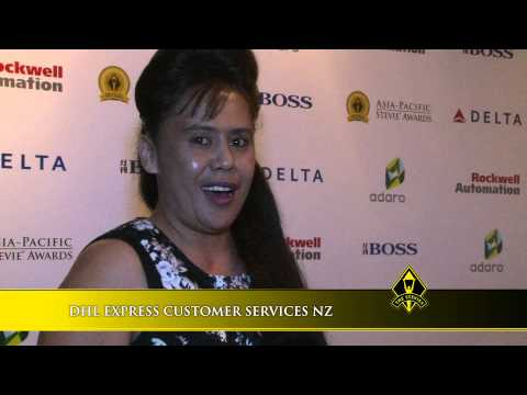 DHL EXPRESS CUSTOMER SERVICES NZ wins at the 2014 Asia-Pacific Stevie Awards
