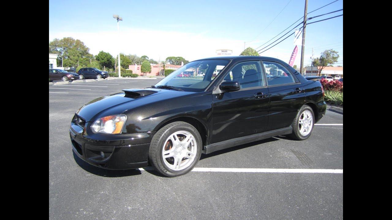 SOLD 2004 Subaru Impreza WRX e Owner Meticulous Motors Inc Florida