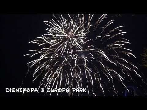 Europa Park Silvester Feuerwerk 2018 DisneyOpa