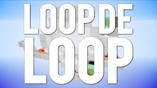 Minecraft: Minecart Loop De Loop! [Tutorial]