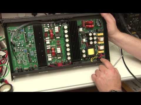 Omnitronic EDP 1000 Watt Class D Amplifier Teardown