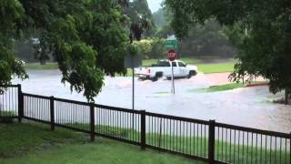 Flooding at Airport Boulevard and Parkwood Road