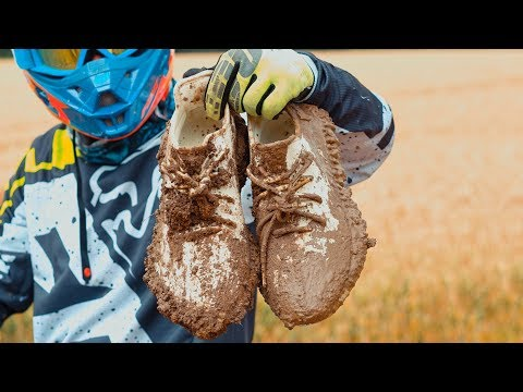 Dirt Bike vs. Yeezy Butters - Extreme Clean Crep Protect