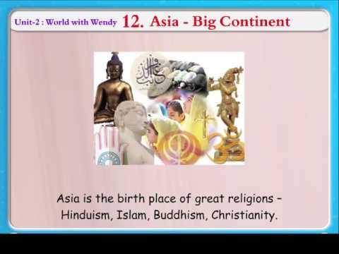 G.K -   Asia Big Continent