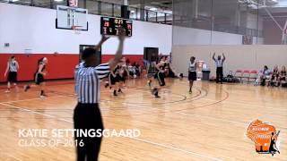 "Katie Settingsgaard AAU WBA Prestige Highlight Video   2016 Oak Creek High School 5'5"" Guard"
