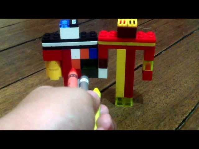 Lego minecraft trolls