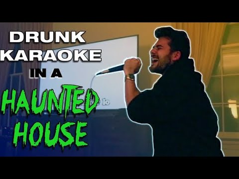 Staying in a Haunted House in Maine / VLOG (Karaoke Party)