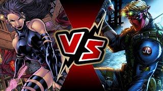 Psylocke VS Grifter | BATTLE ARENA