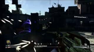 Borderlands Xbox 360 Gameplay - Street Battle