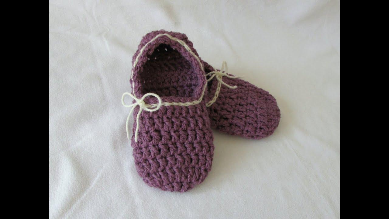 crochet slippers for beginners - photo #12