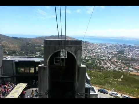 Table mountain Cable car - December 2012 - Full journey