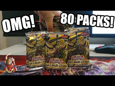 YUGIOH! BEST! 80 PACKS OF MAXIMUM CRISIS  SNEAK PEEK OPENING! LETS GET THEM TRUE DRACOS! (TCG 2017)