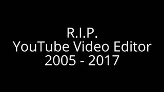 My Final YouTube Video Editor Video